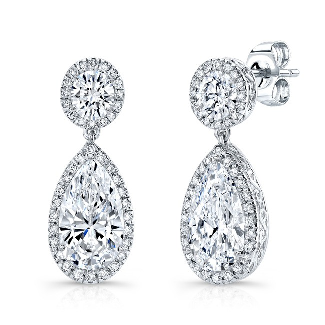 Lady's Diamond Earrings