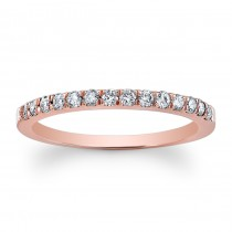 Lady's Diamond Wedding Band