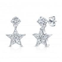 Lady's Diamond Earrings